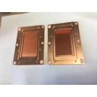 Passivition / Nickel Plating Copper Base Plate Heat Sink Liquid Cooling Cold