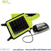 Flexible Mobile Phone Solar Cell Charger With CE, ROHS And 5PCS Connectors Manufactures