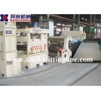 China 6MM Thick Steel Cut To Length Machine Line For Carbon Cold Steel , Weight 25T on sale