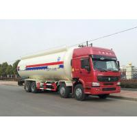 China Semi Bulk Cement Truck With 4 Stroke Electronic Fuel Injection Diesel Engine on sale