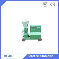 Poultry feed capacity 300-400kg/h flat die feed granulator press machine Manufactures