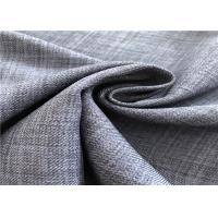 2/2 Twill Sun Fade Resistant Fabric Cation 320D * 320D For Leisure Garment Manufactures