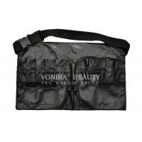 New style Faux Leather Makeup Brush Apron Tool Bag with Belt Manufactures