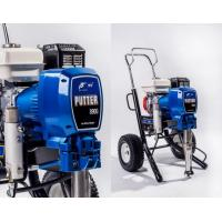 China Gas Powered Airless Paint Sprayer For House Decoration Airless Spray Machine With Piston Pump on sale