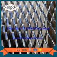 China facade aluminum expanded metal mesh with powder coating