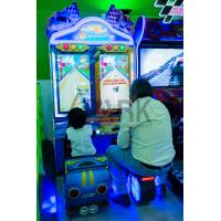 3d Video Car Racing Arcade Games / Coin Operated Amusement Machines Manufactures