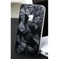 Fashionable 3D diamond screen protector for iphone4&Iphone4s Manufactures