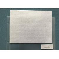 China Snow White Needle Punched Non Woven Fabric 250gsm For Mats on sale