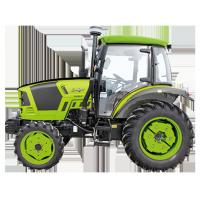 4WD Green Compact Diesel Tractor , Small Farm Tractors 18 - 40hp Power Manufactures