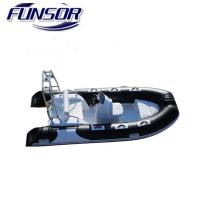 3.9M PVC and Rigid Hull Inflatable Rib Boat 390C for Fishing Rescuing with Ce Certificate Manufactures