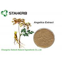Buy cheap Natural Plant Angelica Root Extract Powder Ligth Brownish Yellow 1% Ligustilide HPLC from wholesalers