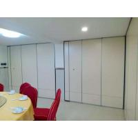 Sliding Movable Office Acoustic Room Dividers with Aluminium Track Melamine Surface Manufactures