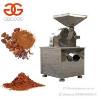 Electric Cocoa Powder Grinding Machine Cacao Powder Making Machine Manufactures