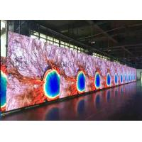 China High Resolution Definition Full Color Indoor LED Advertising Display Screen Customized Size LED Video Walls on sale