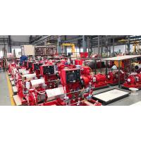 Buy cheap Diesel Engine 500GPM@116PSI UL/FM End Suction Fire Pump set from wholesalers