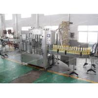 China Auto PET Bottle Olive Oil Filling Machine Fully Automatic 12 - 40 Filling Heads on sale