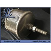 Buy cheap Double Fluid Nozzle For Water Processing And Water Cleaning from wholesalers