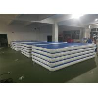 Custom Drop Stitch Material Inflatable Air Track For Sport Train Manufactures