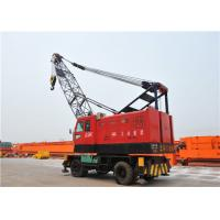 China Rubber Tyred Mobile Harbour Crane For Loading And Unloading Cargos on sale