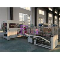Pneumatic / Electric Bottle Packing Machine , Carton Forming Equipment Manufactures