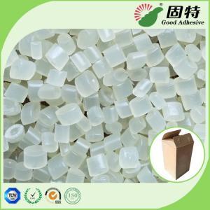 China EVA resin Yellowish Granule solid  Hot Melt Adhesive Packaging , EVA Hot Melt Pellets for bonding of common corrugated c on sale