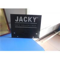 custom company logo and name hdpe plastic cnc machined sheet double color Manufactures