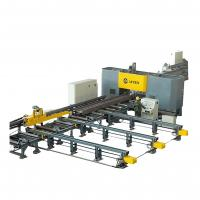 High Speed CNC Beam Drilling and Sawing Machine Line Steel Structure Industry Manufactures