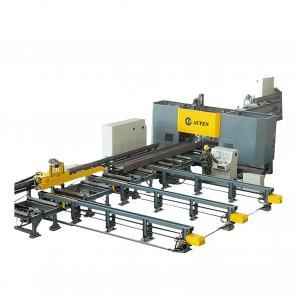 Super High Speed Cnc Beam Drill Line CNC Beam Drilling And Marking Machine