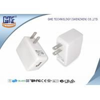 Quality 6W Loudspeaker 5V 1A Universal Travel USB Adapter UL FCC CEC  Approval for sale