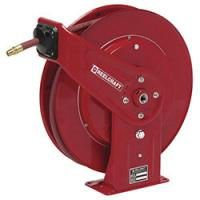 Steel Shaft Retractable Hose Reel , Industrial Ceiling Mounted Extension Cable Reel Manufactures