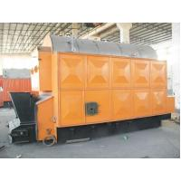 Water Heating Chain Grate Wood Fired Steam Boiler For Petrochemical , 15 Ton Manufactures