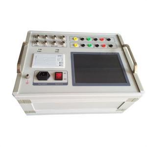 Digital Circuit Breaker Analyzer , Dynamic Characteristics High Voltage Tester Manufactures