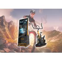 China Indoor Playgrounds VR Bike Ride , Leke X-Rider Virtual Reality Exercise Equipment on sale