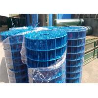 Professional Blue PVC Coated Wire Mesh 20 Gauge Rust Resistance Manufactures