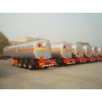 Buy cheap new air suspension truck fuel tanks semi trailer for sale with tool box from wholesalers