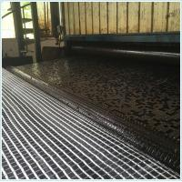 Buy cheap Bitumen coated fiberglass geogrid 50/50KN/M 100/100/KN/M 120/120KN/M 150/150/KN from wholesalers