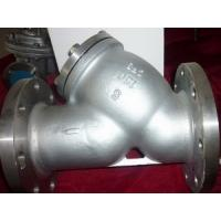 Quality ANSI Stainless steel flanged Y strainer for sale