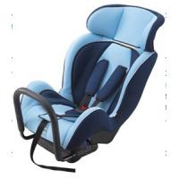 Portable Child Safety Car Seats With Adjustable Headrest / Fabric + Sponge Manufactures