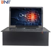 18.5 inch screen aluminum alloy material  motorized flip up monitor  BF-18.5A Manufactures