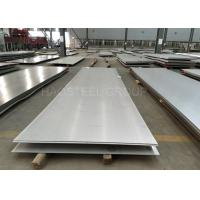 Thin Ss Steel Plate / Super Duplex Hot Rolled Steel Plate High Impact Strength
