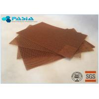 High Temperature Resistance Moisture Proof Aramid Honeycomb Core Sheet For Further Carving Manufactures
