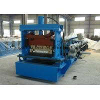 Tapered Standing Seam Metal Roof Roll Forming Machine 5.5kw Hydraulic Cutting Type Manufactures