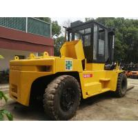 Japanese Heavy Used Diesel Forklift Truck 25 Ton Komatsu FD250 With Side Shifter Manufactures