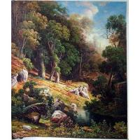 China Classical scenery oil painting on sale
