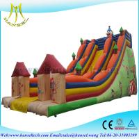 Hansel Commercial Inflatable Slide ,Double Inflatable Slide ,slide for kids playground Manufactures