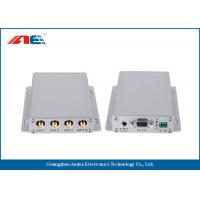 Mid Range Fixed RFID Reader For Industrial RFID Systems ISO 18000 - 3 Protocol Four Channels Manufactures