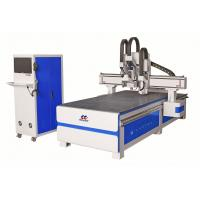 3.0kw Spindle Wood Die Cut Machine , Cnc Wood Carving Machine Mechanical Design Manufactures