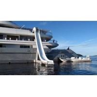 Outdoor Inflatable Water Floating Sports, Inflatable Yacht Slide For Boat/Yacht Manufactures