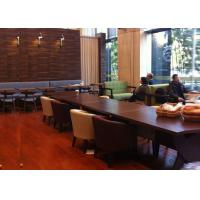 Modern Restaurant Booth Seat wood furniture , Restaurant Dining Chairs Manufactures