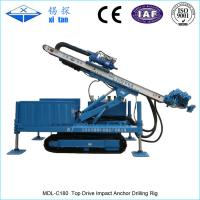 MDL-C180 Full Hydraulic High Rotary Speed Anchor Drilling Machine (10500Nm Torque) Top drive Manufactures